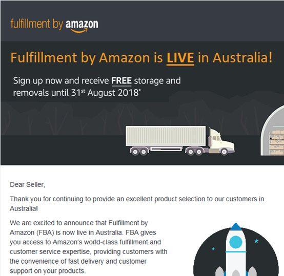 亚马逊澳洲站FBA上线_跨境电商_电商报