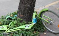废弃共享单车堆积如山  Lime将全部回收