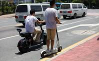 最后一公里竞争激烈 电动滑板车成新兴市场
