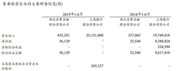 湖北消费金融2019年上半年净利润5600万元_金融_电商报