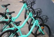 青桔单车在北京落地高精度分体锁单车