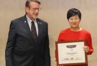 爱库存出席联合国峰会,致力解决世界女性就业难题
