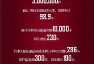 安鲜达双11生鲜商品配送完成 妥投率98.9%