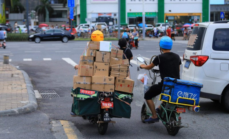 深圳快递外卖车辆将实行记分管理 满12分将进黑名单_物流_电商报