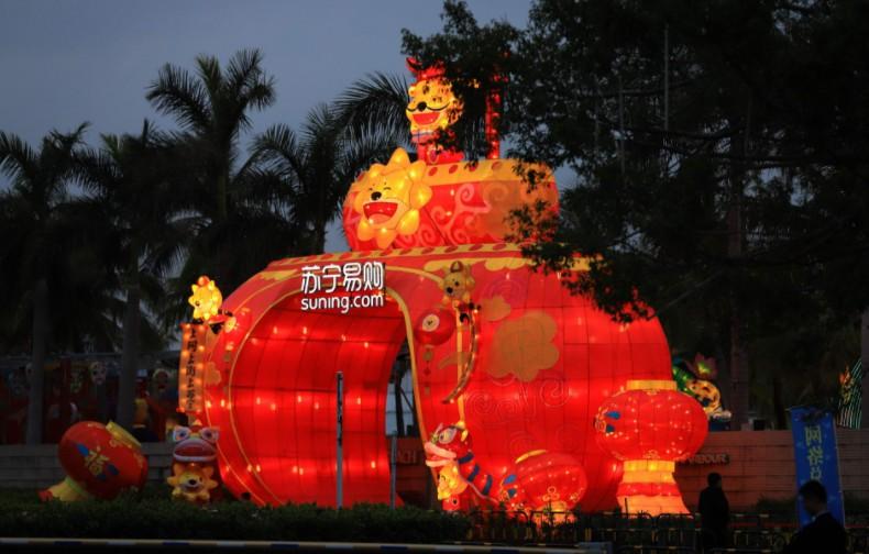 苏宁:拼购村在年货节期间同比增长876%_零售_电商报