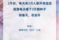 淘宝:2月份每天有3万人新开淘宝店 直播间开播场次涨110%