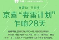 """""""春雷计划""""发布28天 已有超过1.2万家中小企业入驻京喜"""