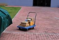 海口邮政管理局开展同城快递可循环可折叠包装试点