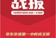 10.21京东自有品牌日上线一小时,京东京造成交额同比增长超200%