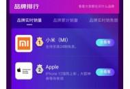 品牌最大增量场!小米、Apple、华为雄踞京东手机实时销量TOP3