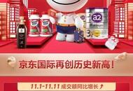 11.11期间全品类销量飙升引领跨国种草风向 京东国际锁定进口消费主场