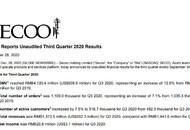 寺库三季报:营收13.735亿元,净利润2080万元